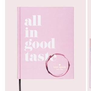 Kate Spade New All In Good Taste book